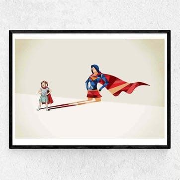 Jason Ratliff, Heroine Framed Art Print