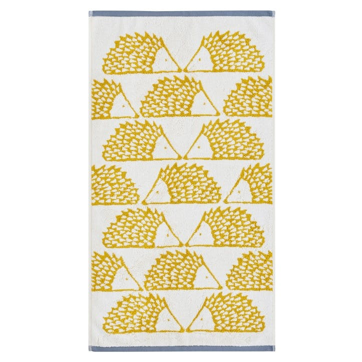 Spike the Hedgehog Bath Towel, Mustard