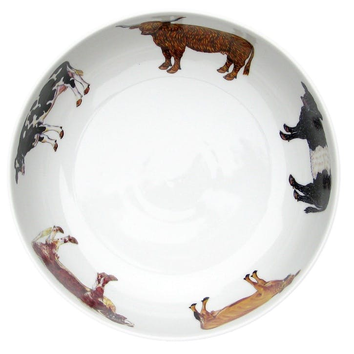 Cows Round Bowl - 24cm