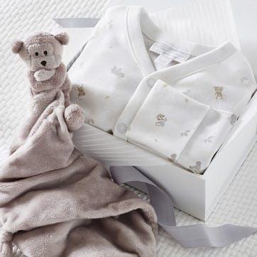 Safari Baby Gift Set, 3-6 months