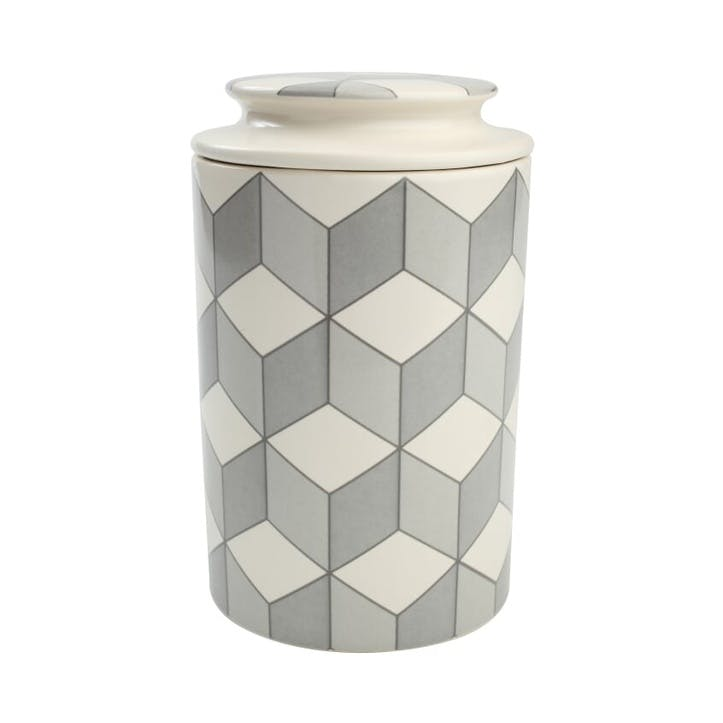 City Cube Storage Jar, Large