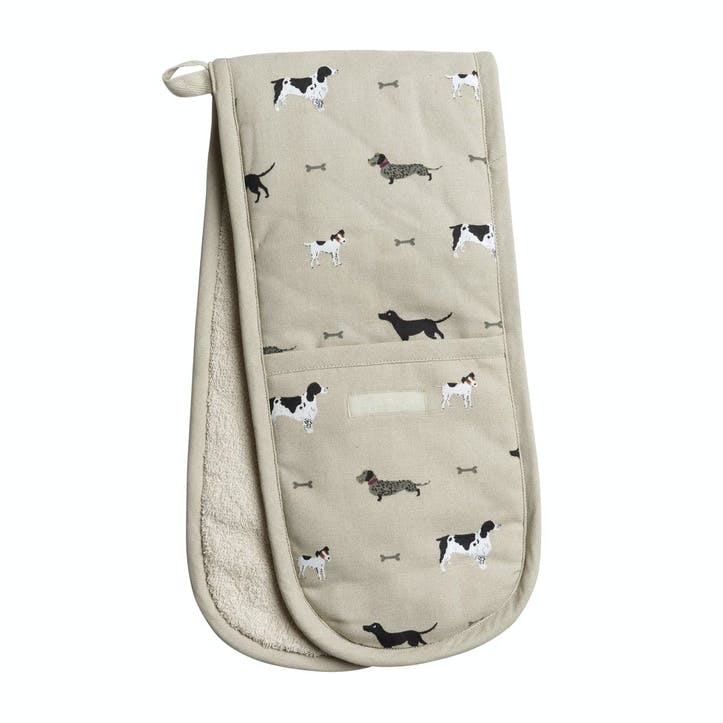 'Woof' Double Oven Glove
