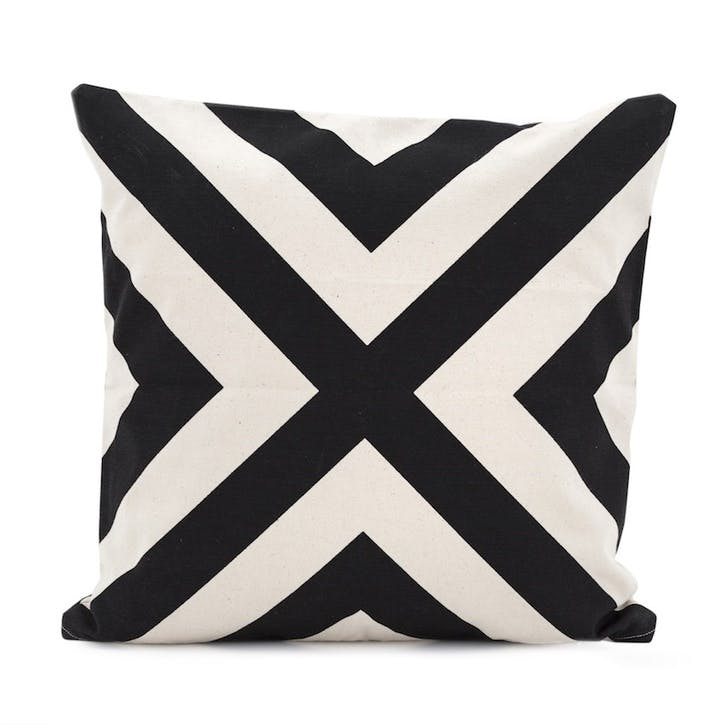 Cross Monochrome Cushion