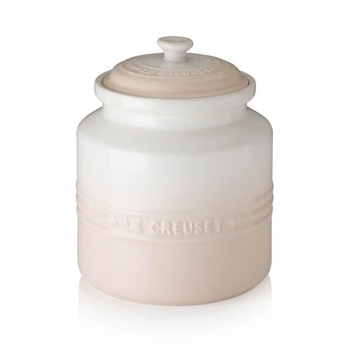 Stoneware Biscuit Jar, Meringue