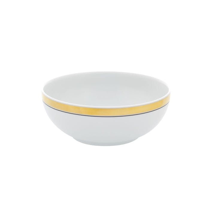 Domo Gold Cereal Bowl