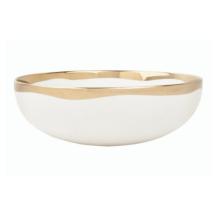 Dauville Serving Bowl, Gold