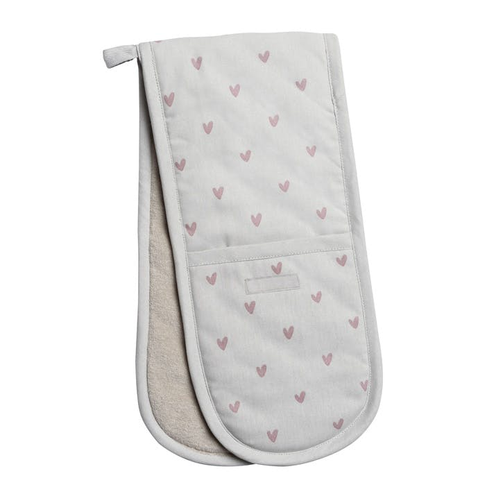 'Hearts' Double Oven Glove