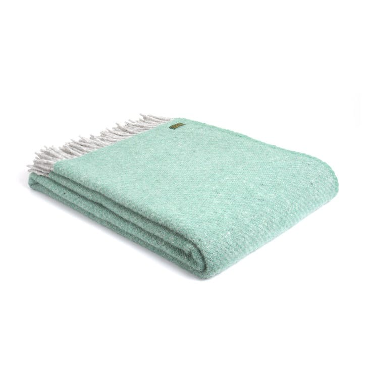 Boa Throw, Sea Green
