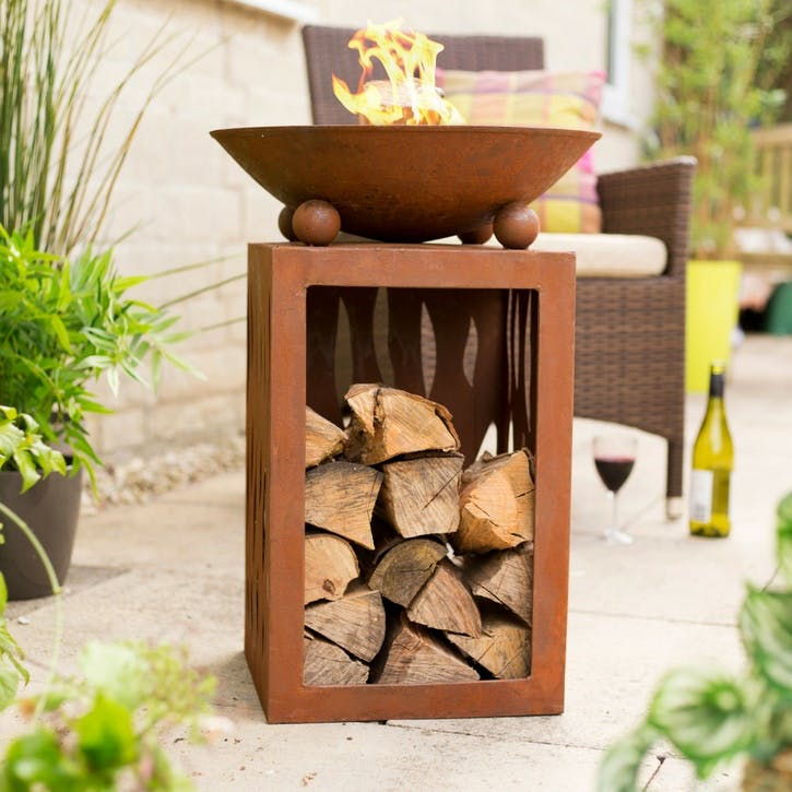 Ochiba Firepit and Stand