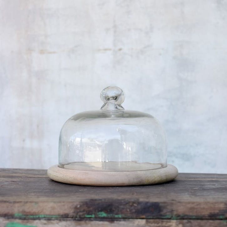 Recycled Glass Bell Dome - Small