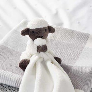 Luna Lamb Comforter, W25 x L25cm, White