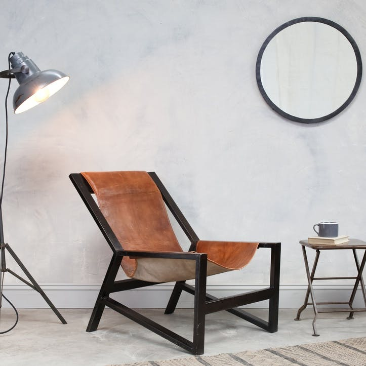 Narwana Leather Chair
