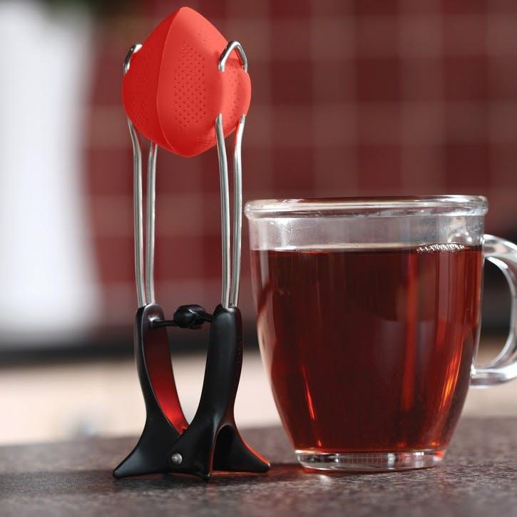 Teafu Tea Infuser, Red