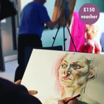 £150 Gift Voucher - Drawing/Painting Classes