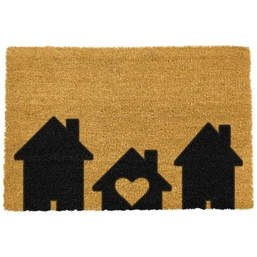 Home Is Where The Heart Is Doormat