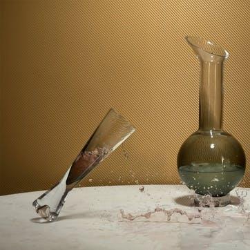 Tank Champagne Glasses, Set of 2, Black