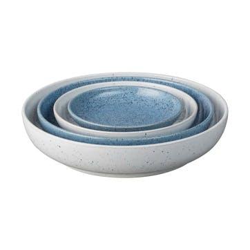 Studio Blue Set of 4 Nesting Bowls