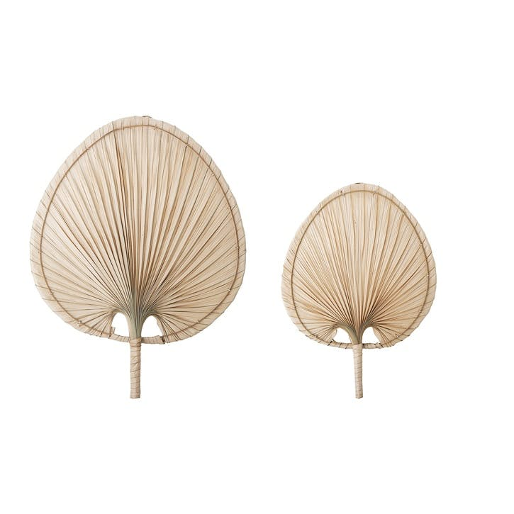 Palm Leaf Wall Décor, Set of 2