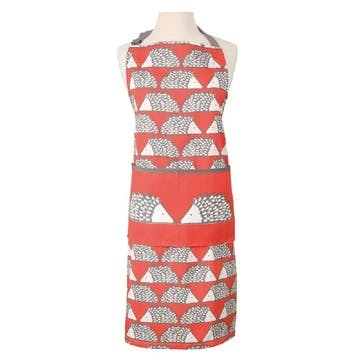 Spike Apron, Red