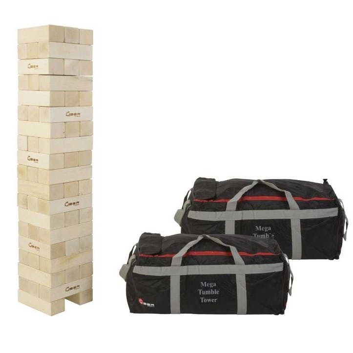 Mega Tumble Tower, Hardwood