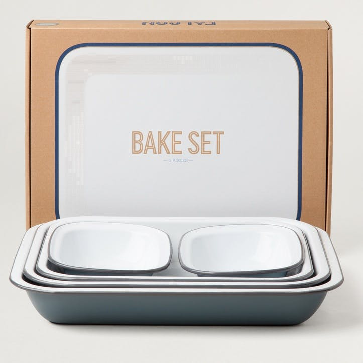 Bake Set, Pigeon Grey