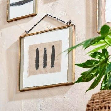 "Kiko Brass Frame - 5 x 7"", Landscape"