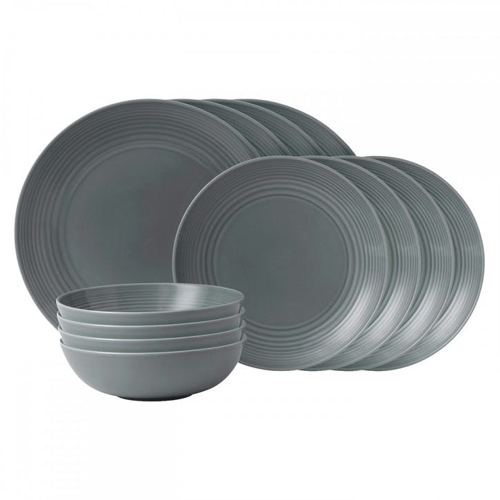 Gordon Ramsay Maze 12 Piece Set, Dark Grey