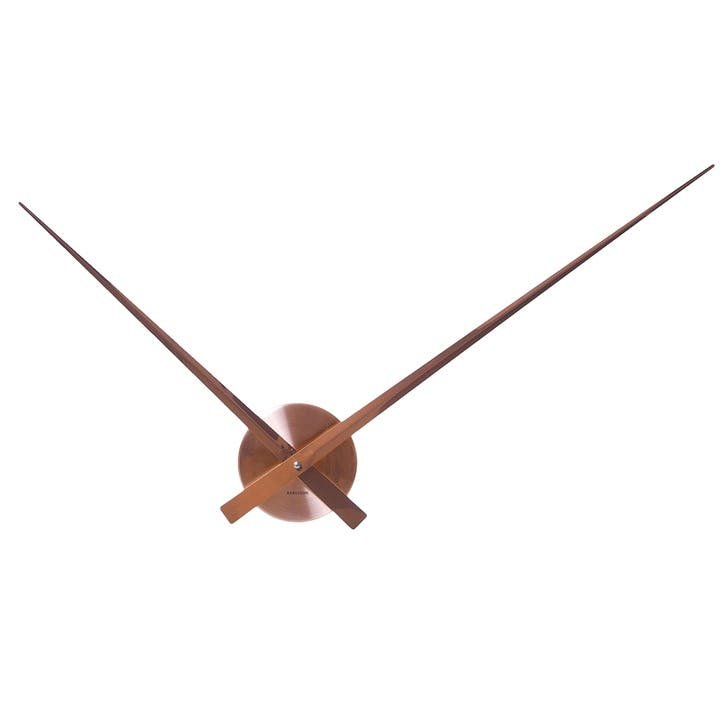 Little Big Time Wall Clock, Copper