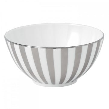 Platinum Striped Nibbles Bowl