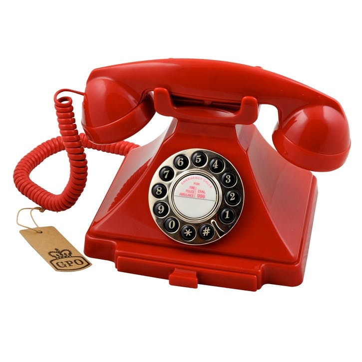 Carrington Telephone; Red