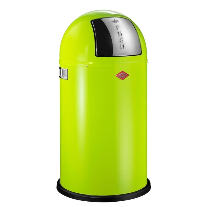 Pushboy Bin - 50L, Lime Green