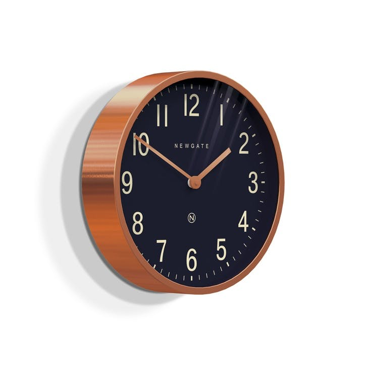 Master Edwards Wall Clock, Dia. 30cm, Copper