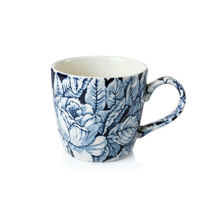 Ink Blue Hibiscus Osbourne Mug