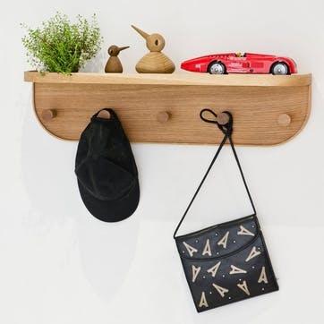 Nook Five-Hook Shelf