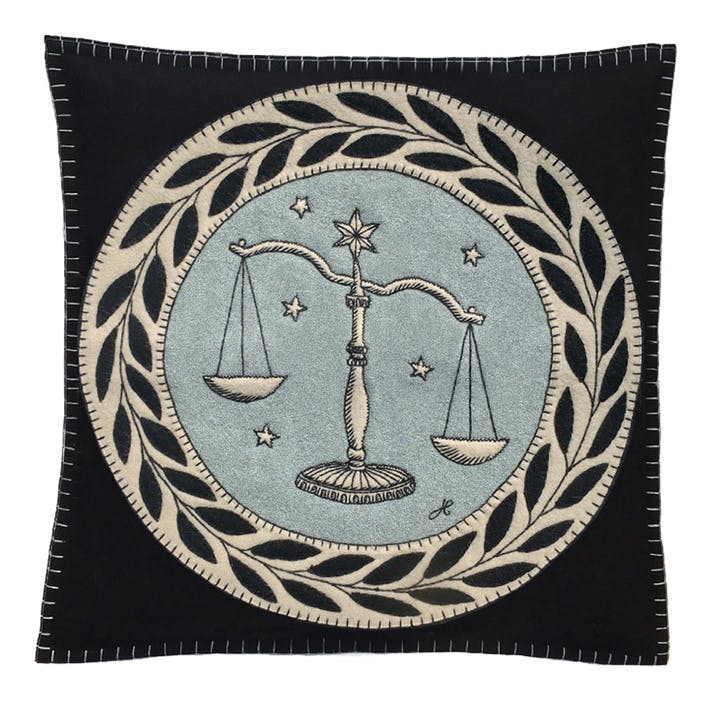 Libra Cushion, 46 x 46cm, Multi