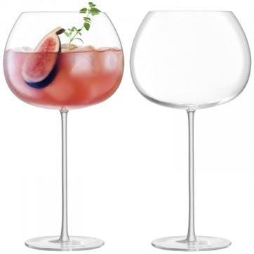 Bar Culture, Balloon Glass, Set of 2, 940ml