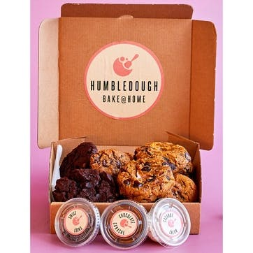 3 Month Subscription for Vegan Home Baking Cookie Dough Boxes
