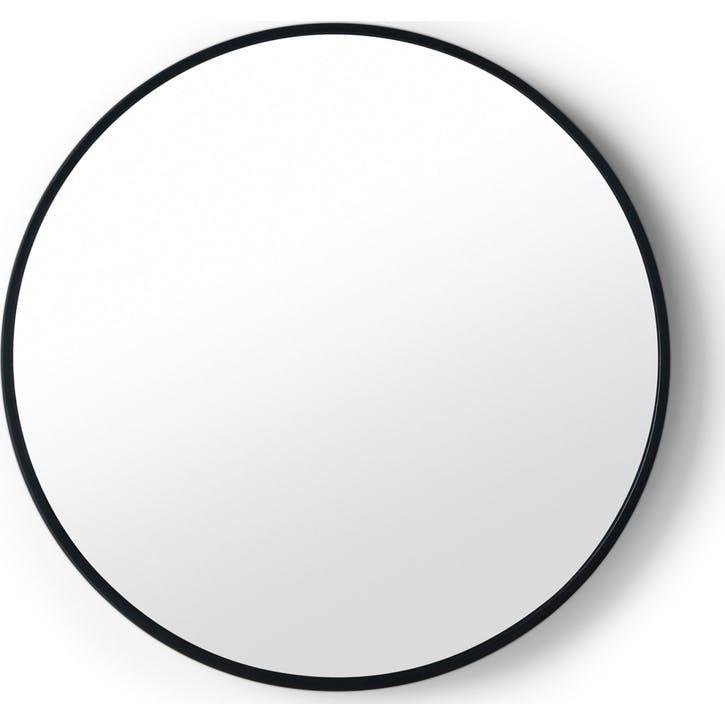Bex round mirror, Black