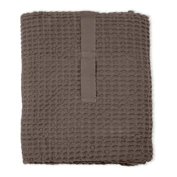 Waffle Towel And Blanket, L150 x W100cm, Clay