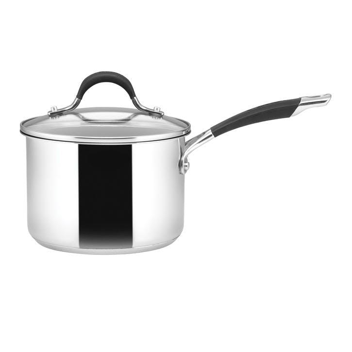 Momentum Stainless Steel Saucepan, 18cm