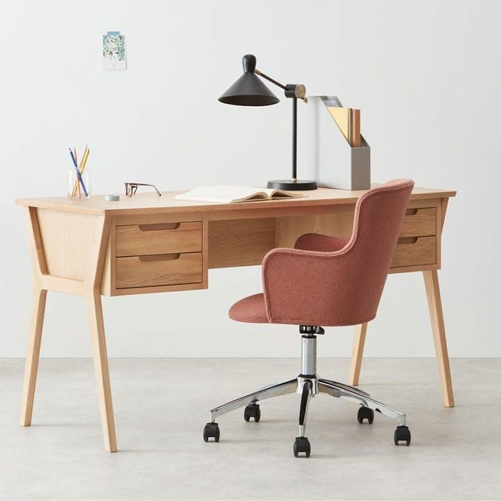 Jenson, Desk, Oak