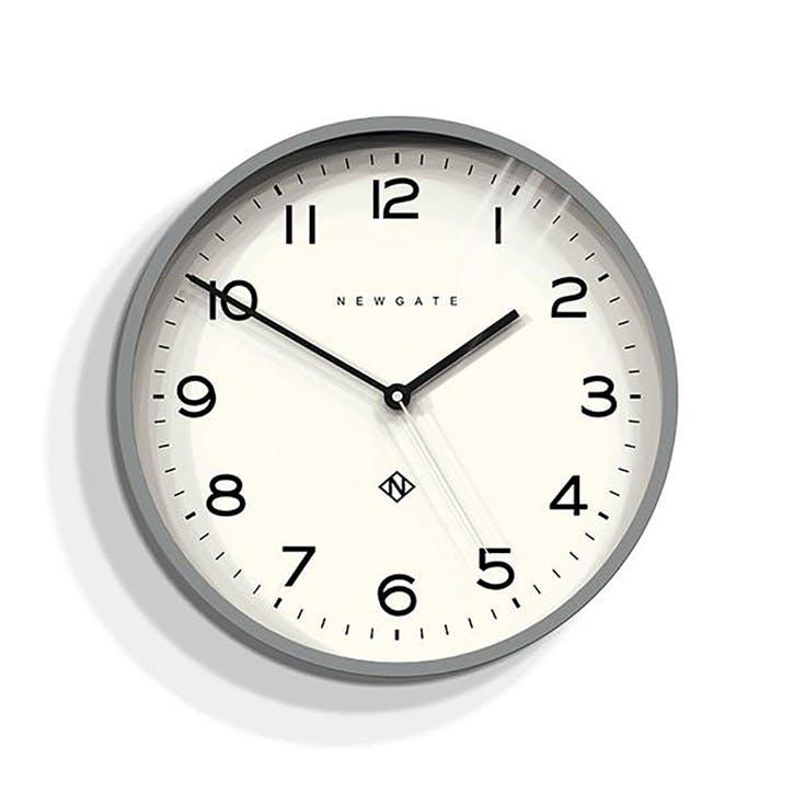 Echo - Number 3, Wall Clock, W37cm x D5cm x H37cm, Grey