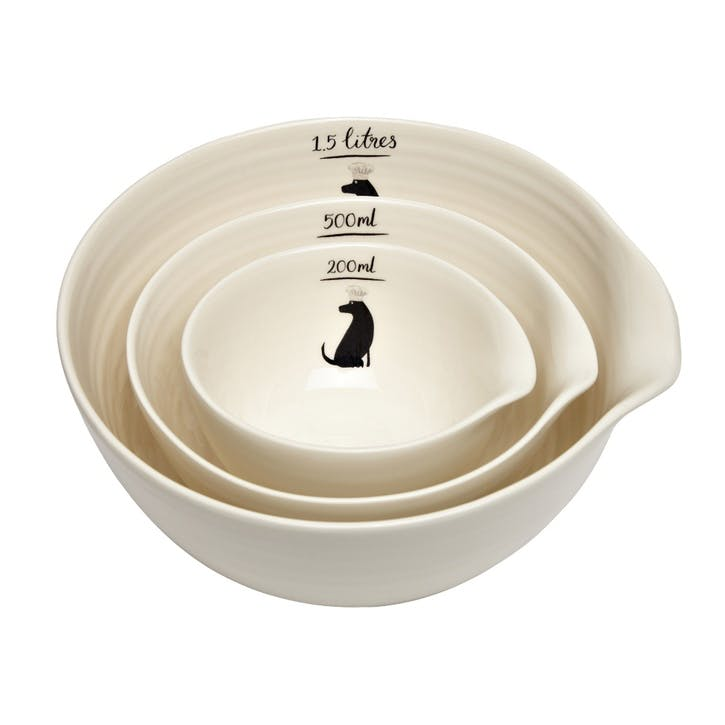 Labrador Nesting Bowl, Set of 3