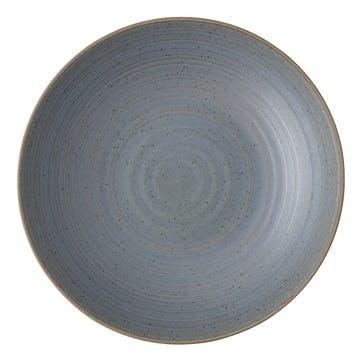 Nature, Dessert Plate, Dia23cm, Water Blue