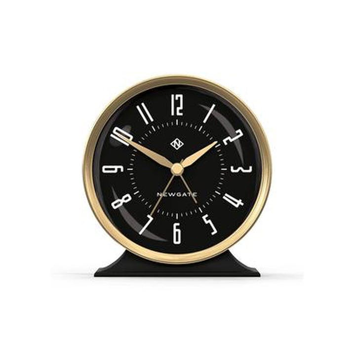 The Hotel Alarm Clock, Black and Gold