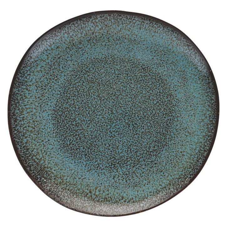 Olmo Side Plate, Turquoise