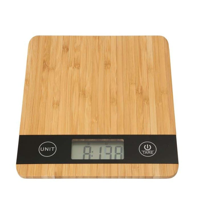 Bamboo Digital Kitchen Scales