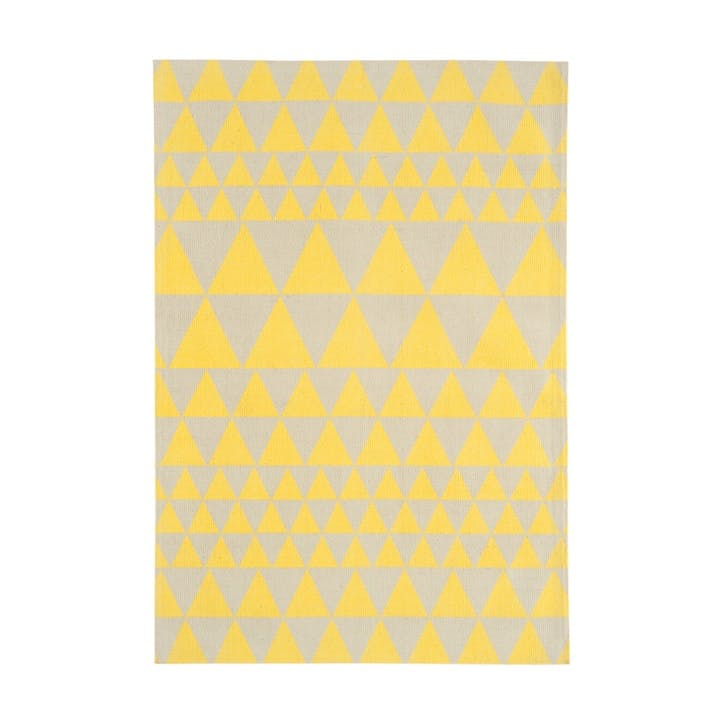 Onix Triangles Rug - 1.2 x 1.7m; Yellow
