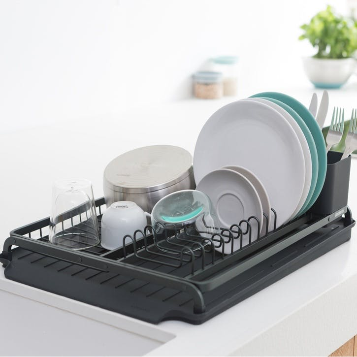 Dish Drying Rack, Dark Grey