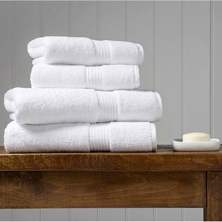 Supreme Supima Hygro White Hand Towel